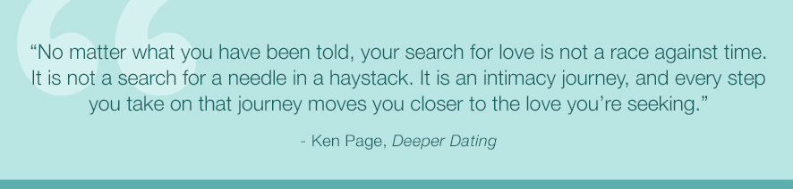deeper dating course Deeper dating: how to drop the games of seduction and discover the power of intimacy [ken page, allan robertson] on amazoncom free shipping on.